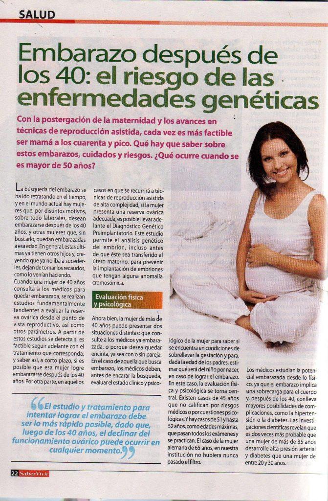 53d6f4a7d Con la postergación de la maternidad y los avances en técnicas de  reproducción asistida
